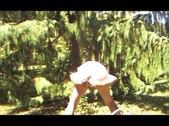 transvestite garden panties anal fisting sextoy sissy 16