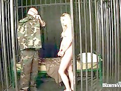 bdsm blondine blowjob