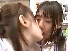asiatico bambino giapponese lesbica