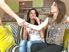 pijpbeurt groepsseks tiener teen pijpbeurt actie