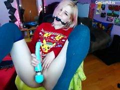 fétiche masturbation solo jouets webcam