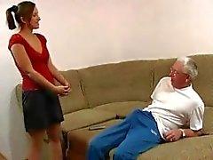 ruso familiar - relaciones sexuales vieja - hombre de - jóvenes - niña de amateur duro