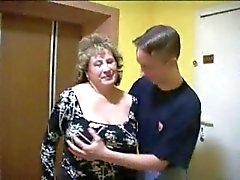 bbw boquetes amadurece jovens de idade threesomes