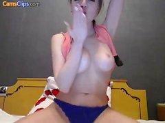 amateur doigté masturbation étudiant webcam
