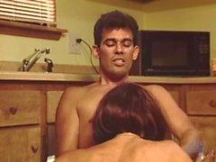 carol cummings sarışın woodrocket 80s klasik sahte göğüsleri horoz