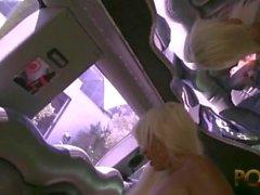 blowjob französisch - blonde baby blondine abspritzen