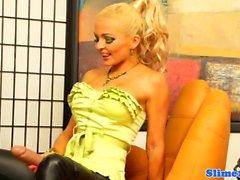 blondin brunett bukkake fetisch hårig