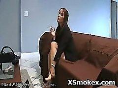 Horny Slut Smoking Hot Fetish Explicit