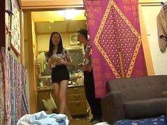 любительский азиатский собачьи подросток