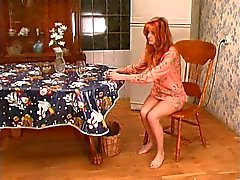 Russian Mature and her Lesbian House Maid #3