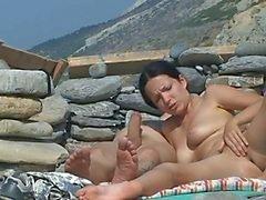 strand hardcore publieke naaktheid