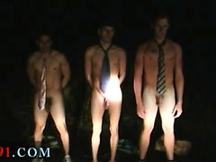 Very twink boy gay and black men cumshots in a group WTF one