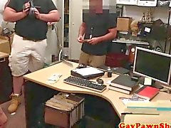 pawnshop newbie being dick sucked very wildly