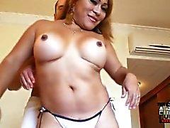 Mexican shemale Tonya gets fucked by the TSFucker