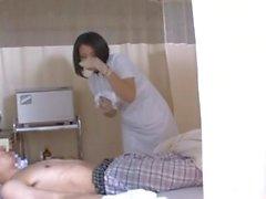 gants japonais infirmière brunette fétiche