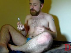 Thedudewhosadude shows off new underwear and ass toys!
