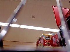 Milf Supermarket Upskirt White Panties
