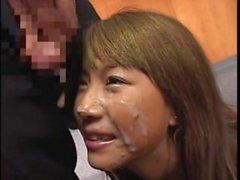 eurosmut giapponese brunetta bambino ragazza