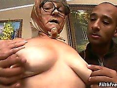 бабушка зрелый