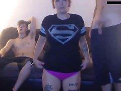 amateur blowjob rotschopf dreier webcam