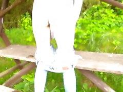 amateur desnudez pública al aire libre
