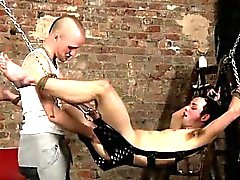Straight boys first anal clips Face Fucked With A Cummy Cock