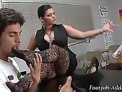 Fetish femdom teacher humiliates student