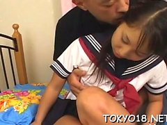 asiático hardcore japonês adolescente uniforme