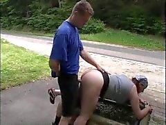 amatööri saksa julkinen alastomuus tirkistelijä