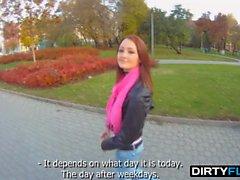 mamada europeo duro hd al aire libre