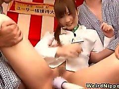 asiático morena fetiche japonês uniforme