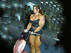 Female bodybuilding fbb bodybuilder bbw femdom