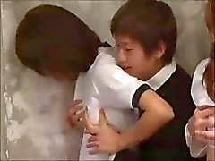 aasialainen babes ryhmäseksiä japanilainen