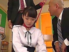 asiático mamada colegio orgia