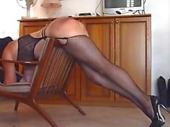 my sub Louise spanked and penetrated