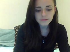 amateur cul brunette