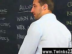Gay video Horny teacher Tony Hunter doesn't seem to care muc