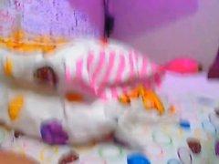 amatööri tyttö isot tissit itsetyydytys lelut