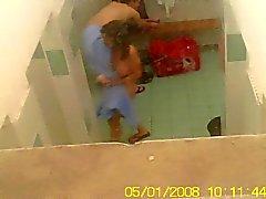 amatööri piilotettu kamerat suihkut teini-ikä tirkistelijä