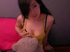 amateur solo strümpfe teenager webcam