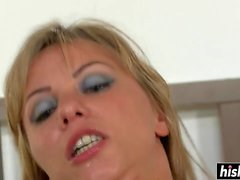 anal trio blond blondes le sexe anal
