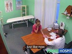FakeHospital Hot Brunette Patient returns craving the
