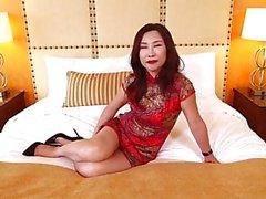 asiático grandes mamas hardcore bunda porra