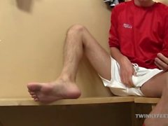 Cute Twink Jasper James Foot Fetish Jerk Off