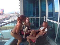 lesbiska offentlig nakenhet hd-video
