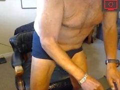 homossexual amador papai masturbação