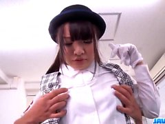Natsuki Hasegawa blows teacher for better grades - More at