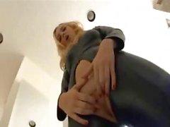anal rubia mamada cremita