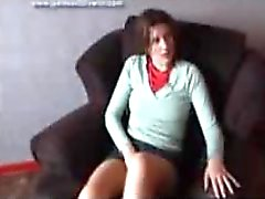 spanking ondeugend meisje ezel