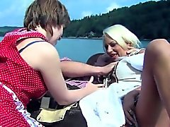 baby blondine blowjob